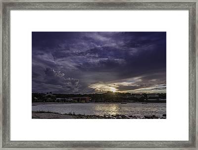 Long Bay Sunset #1 Framed Print