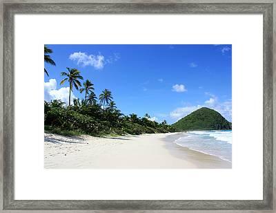 Long Bay Tortola Framed Print