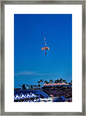 Framed Print featuring the photograph Long Beach Grand Prix 2013 by Joseph Hollingsworth