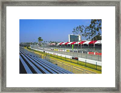 Long Beach Grand Prix 2014 Framed Print
