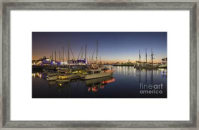 Long Beach Framed Print