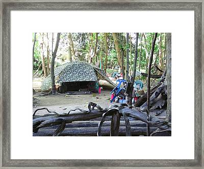 Long Boat Tour - Phi Phi Island - 0113107 Framed Print by DC Photographer
