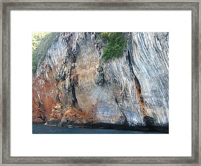 Long Boat Tour - Phi Phi Island - 0113156 Framed Print by DC Photographer