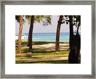 Long Boat Tour - Phi Phi Island - 0113222 Framed Print by DC Photographer