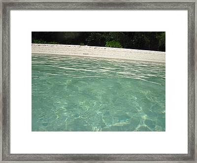 Long Boat Tour - Phi Phi Island - 0113229 Framed Print