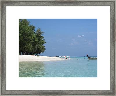 Long Boat Tour - Phi Phi Island - 0113233 Framed Print by DC Photographer