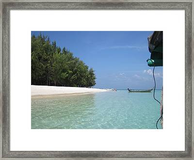 Long Boat Tour - Phi Phi Island - 0113234 Framed Print by DC Photographer