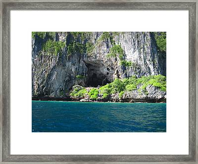 Long Boat Tour - Phi Phi Island - 011327 Framed Print by DC Photographer