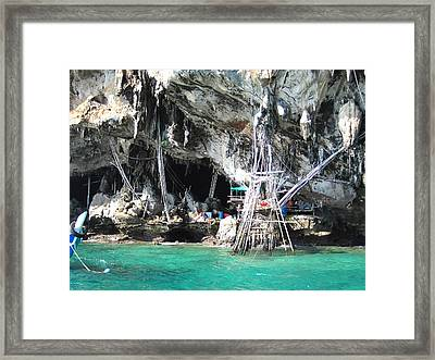 Long Boat Tour - Phi Phi Island - 011331 Framed Print by DC Photographer