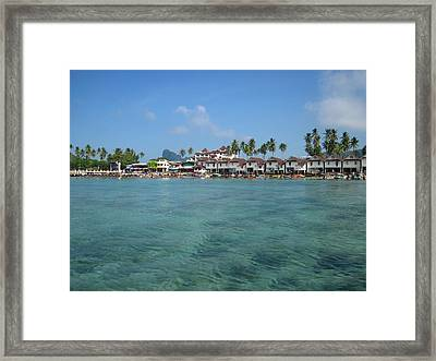 Long Boat Tour - Phi Phi Island - 01136 Framed Print by DC Photographer