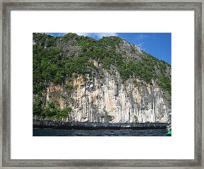 Long Boat Tour - Phi Phi Island - 011361 Framed Print by DC Photographer