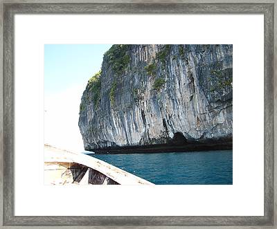 Long Boat Tour - Phi Phi Island - 011391 Framed Print by DC Photographer
