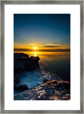 Long Cold Winter II Framed Print by James  Meyer