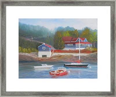 Long Cove Framed Print