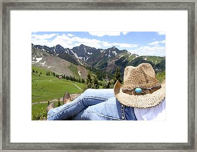 Long Day Framed Print by Jessica Tookey