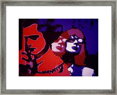 Framed Print featuring the digital art Long Distance by Steve Godleski