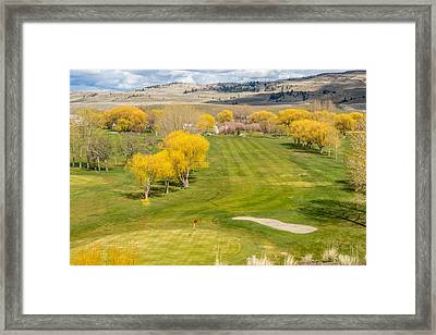 Long Drive  Framed Print by Randy Giesbrecht