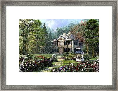 Long Fellow House Framed Print