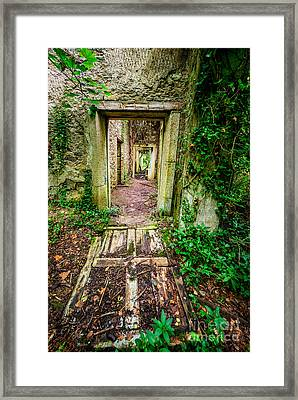 Long Forgotten Framed Print by Adrian Evans