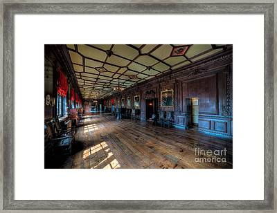 Long Gallery Framed Print by Adrian Evans