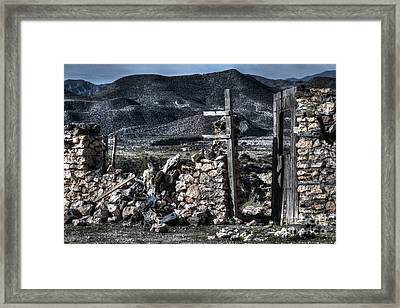 Long Gone Past Framed Print by Heiko Koehrer-Wagner