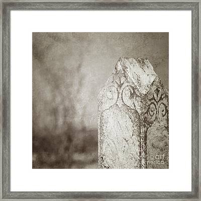 Long Gone Framed Print