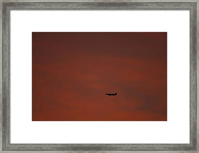 Long Hard Goodbye Framed Print by Donna Blackhall