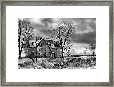 Long Hard Winter Framed Print