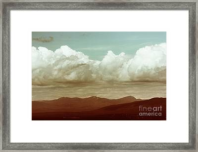 Framed Print featuring the photograph Long Horizon by Dana DiPasquale