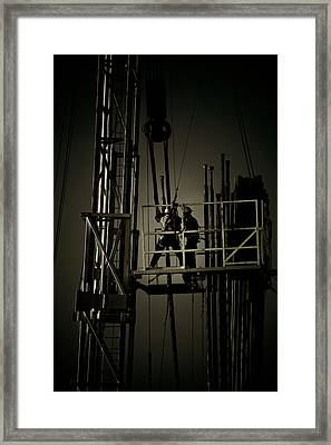 Long Hours Framed Print by Glenn Fillmore