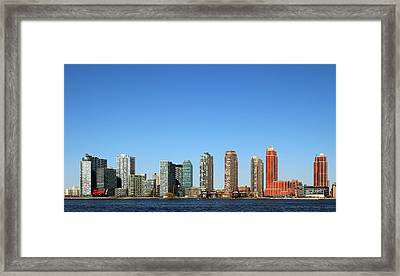 Long Island City Framed Print by Jim Poulos