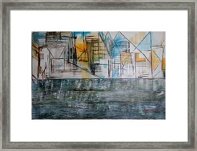 Long Island City Pov3 Framed Print
