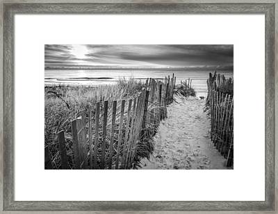 Long Island In A Picture Framed Print