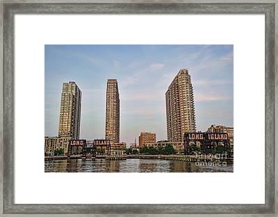 Long Island Framed Print