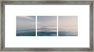 Long Island Sound Framed Print by Sabine Jacobs