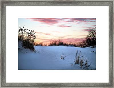 Long Island Sunset Framed Print