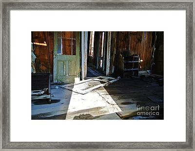 The Haunted Past Framed Print