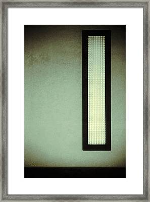 Long Narrow Window Framed Print
