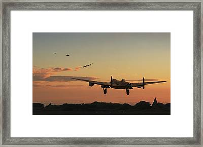 Long Night Ahead Framed Print
