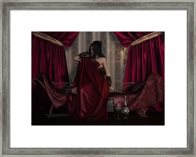 Long Night Framed Print by Rachel Dudley