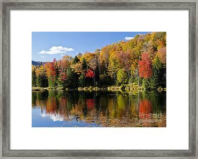 Long Pond Autumn Framed Print