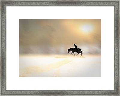 Long Ride Home Framed Print by Bob Orsillo