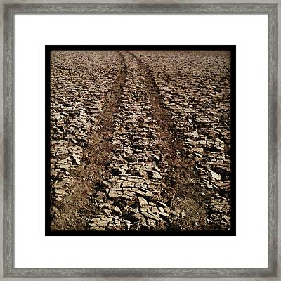 Long Road Ahead Framed Print by Brett Smith