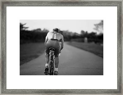 Long Road Framed Print by Bonnie Carter