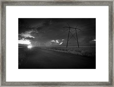 Long Road Home Framed Print by Bradley R Youngberg