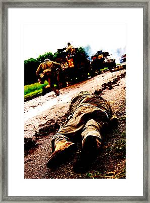 Long Road Framed Print by Jame Hayes