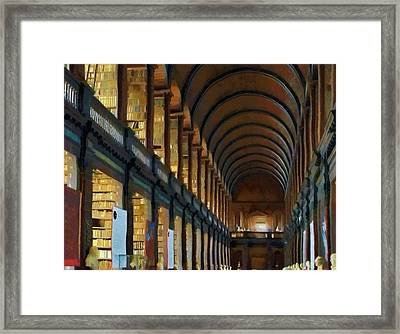 Long Room Framed Print
