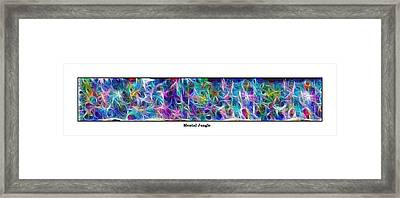 Long Series -- Mental Jungle Framed Print by George Curington