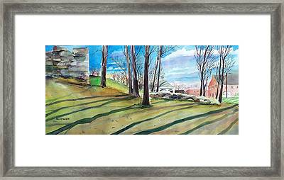 Long Shadows Framed Print by Scott Nelson
