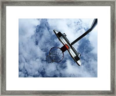 Long Shot Framed Print by Tom Druin